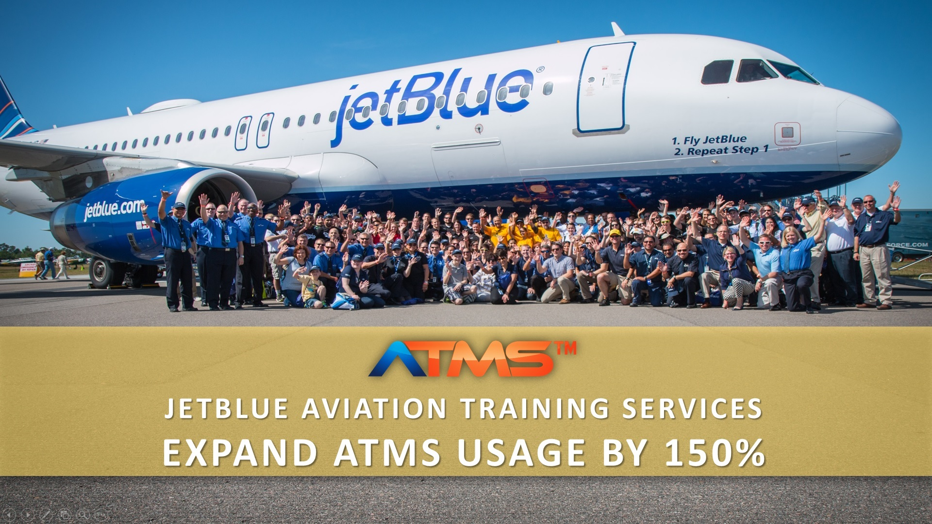 Jetblue airways expands ATMS