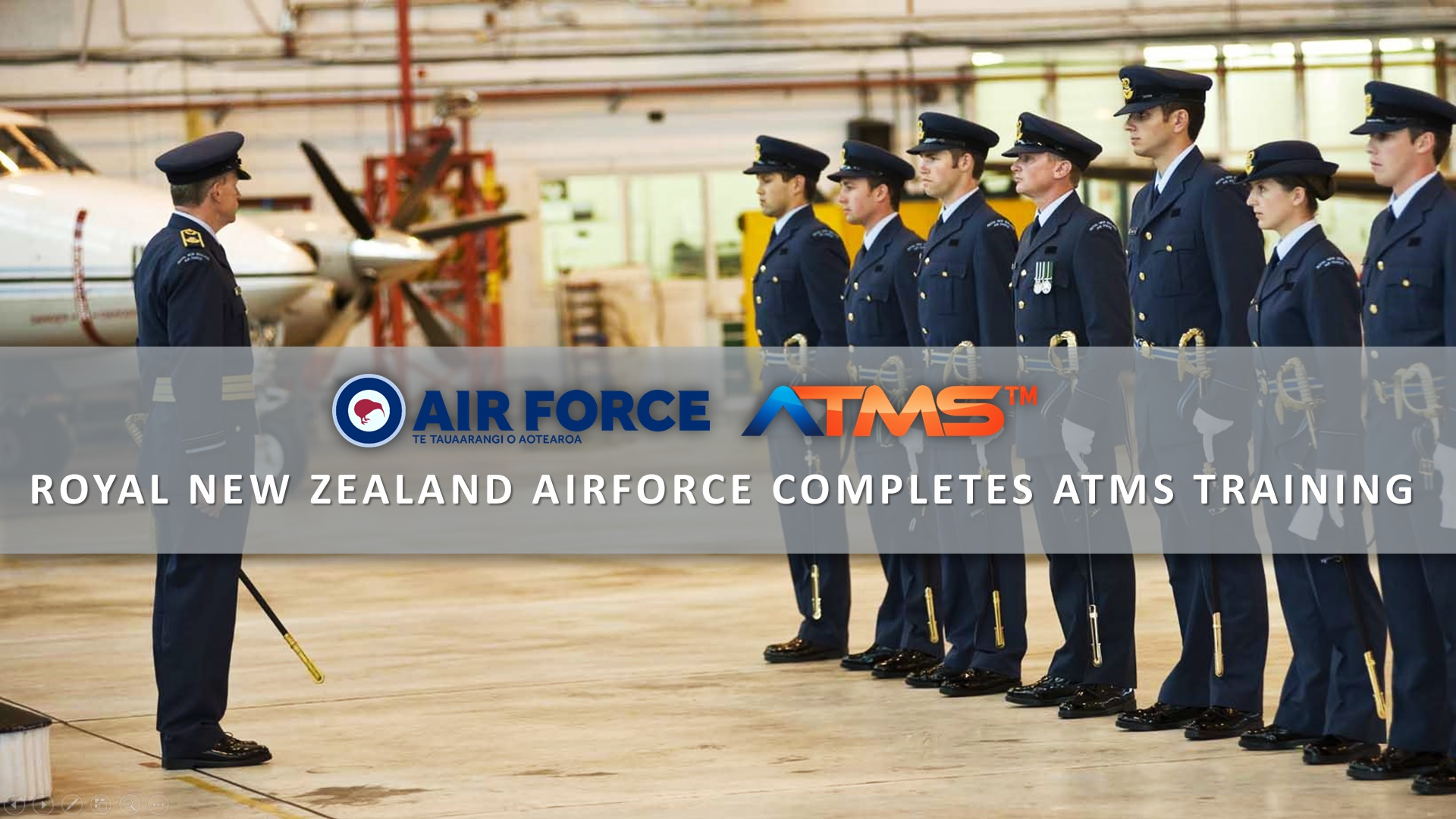 Royal New Zealand Air Force Completes ATMS Training