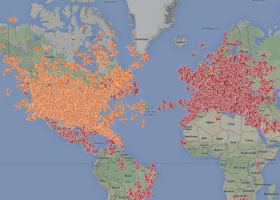 realtime flight tracker planefinder.net
