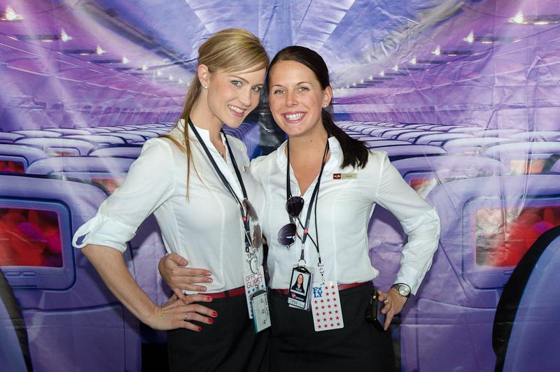 Virgin America Crew Members from Flight 10