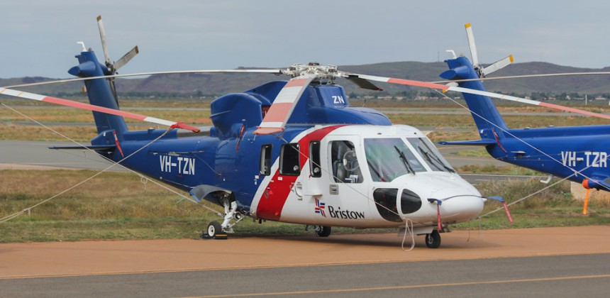 20110707_385 VH-TZN Sikorsky S-76A+ of Bristow Helicopters Australia at KTA (1)