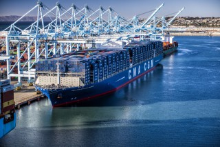 Port of Los Angeles Ben Franklin Cargo Shipping