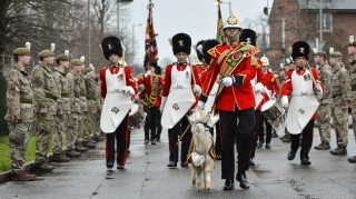 WELSH REGIMENT WELCOME THE NEW KID ON THE BLOCK