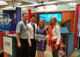 AQT Solutions with ICAO at WATS 2015 Conference in Orlando, FA