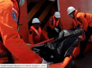 South Korean Maritime Accidents Double in 2015