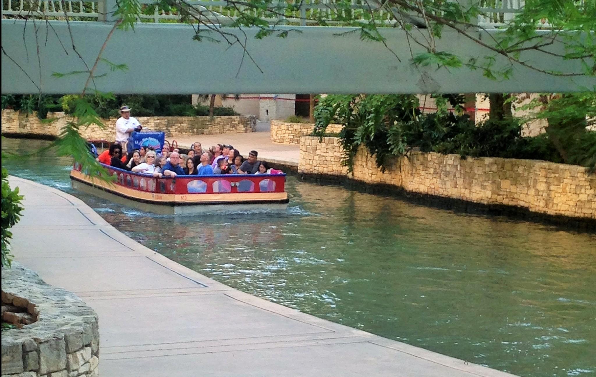 San Antonio River Walk at the Grand Hyatt