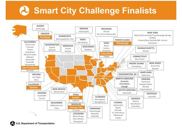 Smart City Challenge >> Us Dot Transportation Secretary Foxx To Visit Seven Smart