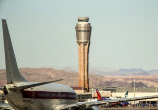 Las Vegas FAA Air Traffic Control Tower Las Vegas Review Journal