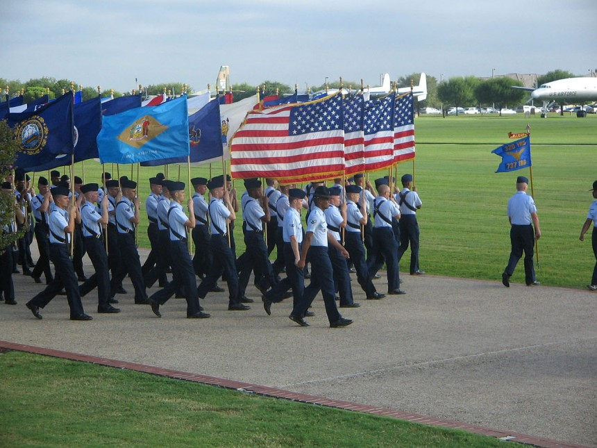 What is the US Air Force Basic Military Training Program?