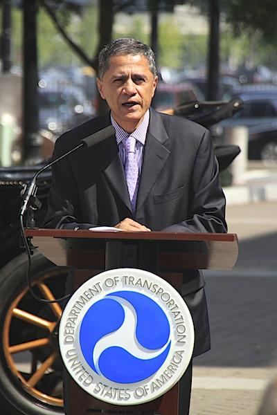 Deputy Secretary of Transportation Victor Mendez