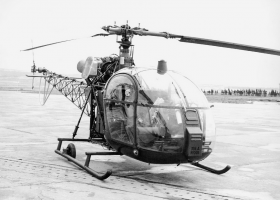 SNCASE SA 315A 001 Airbus Helicopters