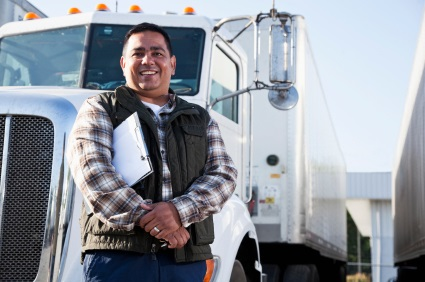 Truck driver safety training systems