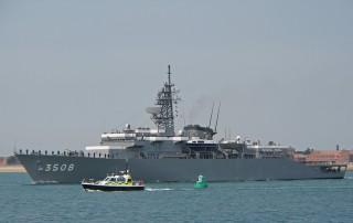 Japanese training ship JDS Kashima (TV-3508)