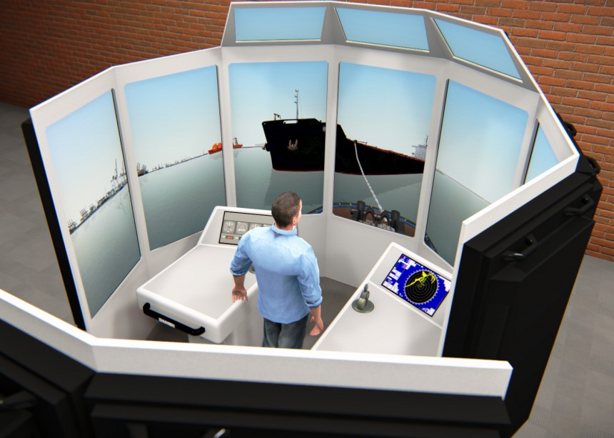 Maritime Simulator Training