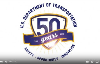 50th Annivesary of DOT Department of Transportation