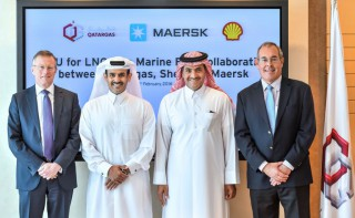 Maersk, Qatargas and Shell Team Up on LNG as Marine Fuel